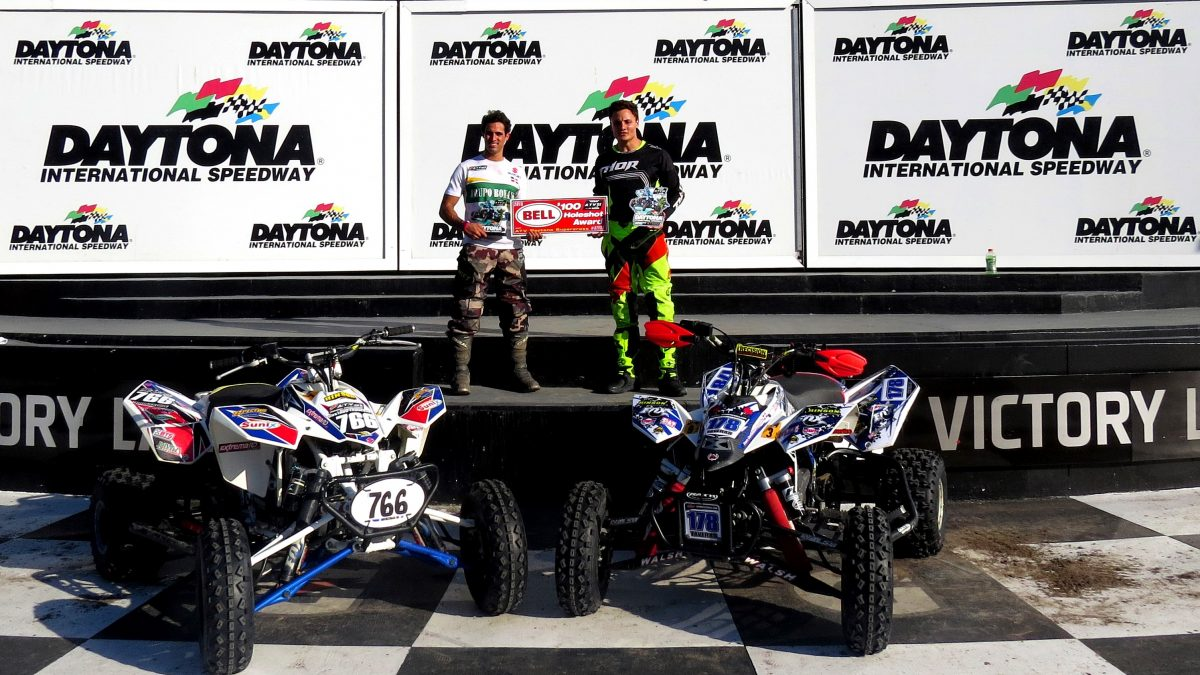Gustavo Troncoso and Hector T. Troncoso Win at Daytona ATV Supercross!